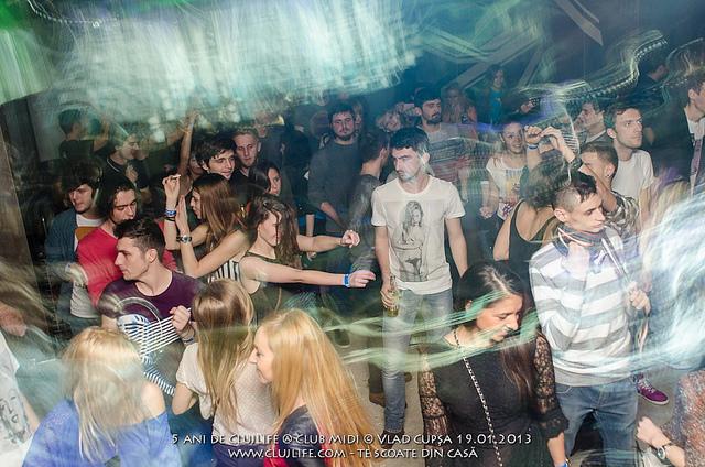 Poze: 5 ani de ClujLife @ Club Midi