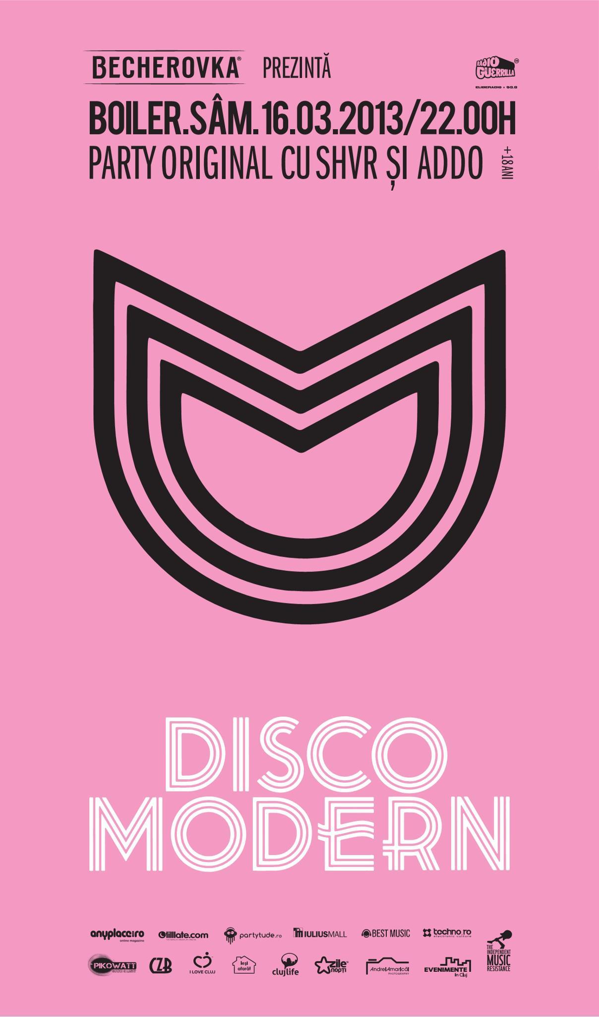 Disco Modern @ Boiler Club