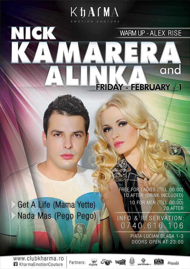 Nick Kamarena & Alinka @ Kharma