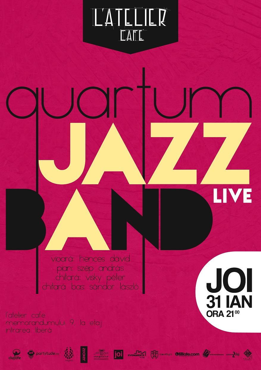 Quartum Jazz Band @ L'Atelier Cafe
