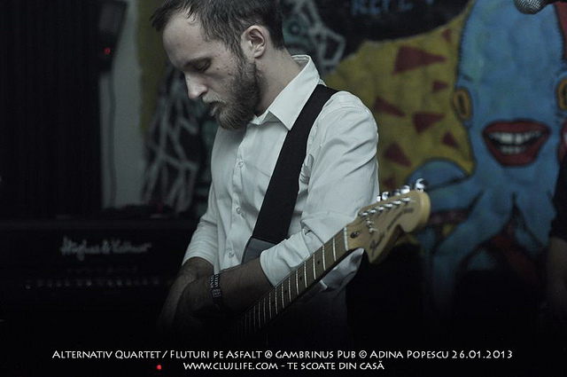 Poze: Alternativ Quartet / Fluturi pe Asfalt @ Gambrinus Pub