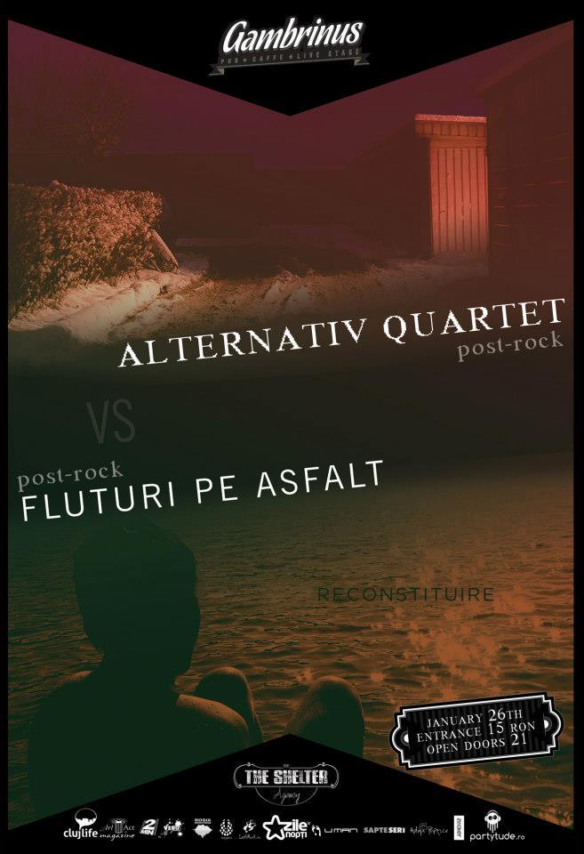 Alternativ Quartet vs Fluturi pe Asfalt