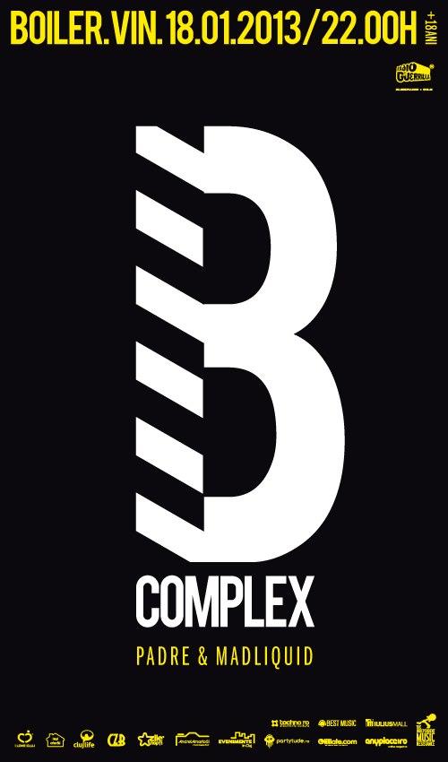 B-Complex @ Boiler Club