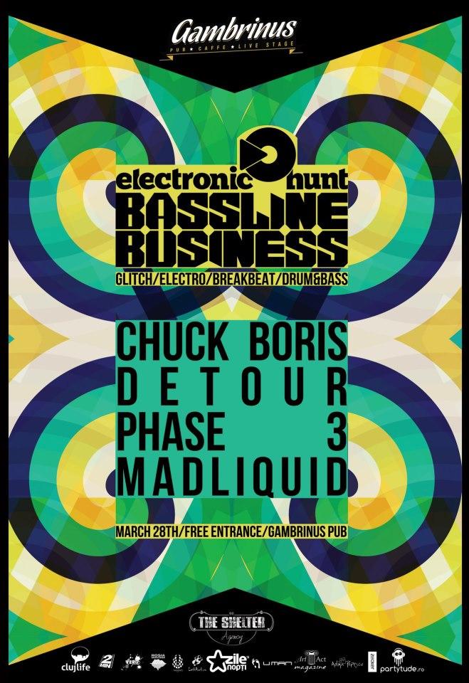 Bassline Business @ Gambrinus Pub