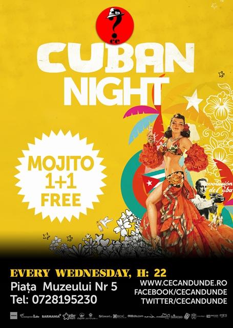 Cuban Night @ Ce?