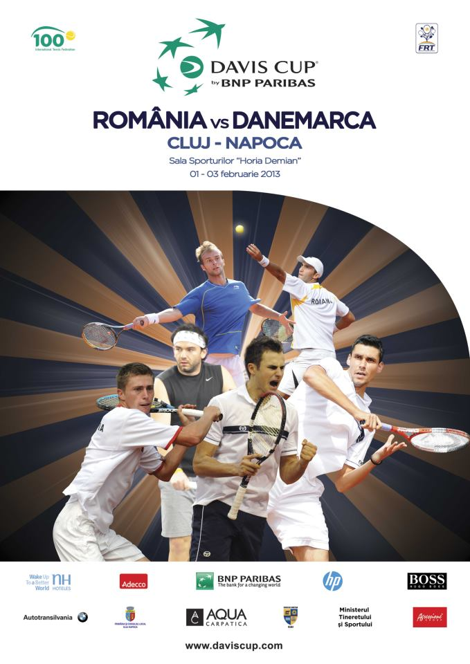 Cupa Davis: Romania – Danemarca