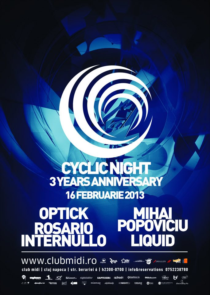 Cyclic Night 3yrs Anniversary @ Club Midi