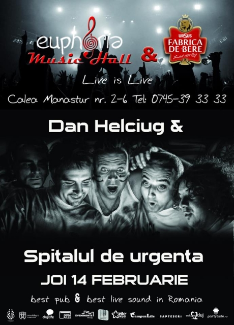 Dan Helciug & Spitalul de Urgenta @ Euphoria Music Hall