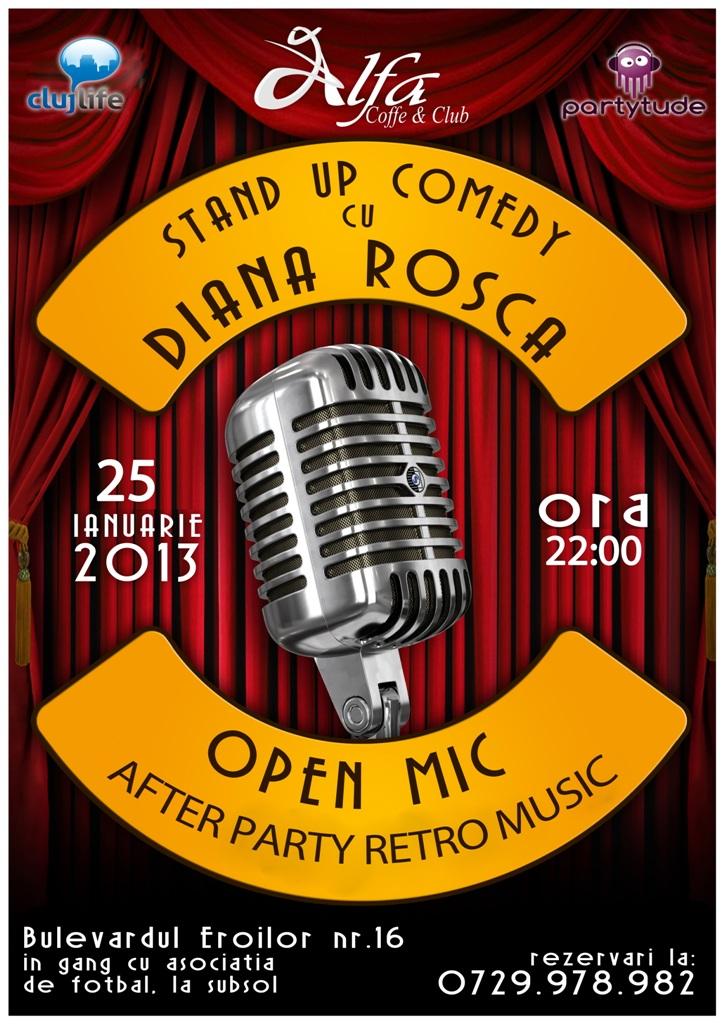 Stand Up Comedy cu Diana Rosca