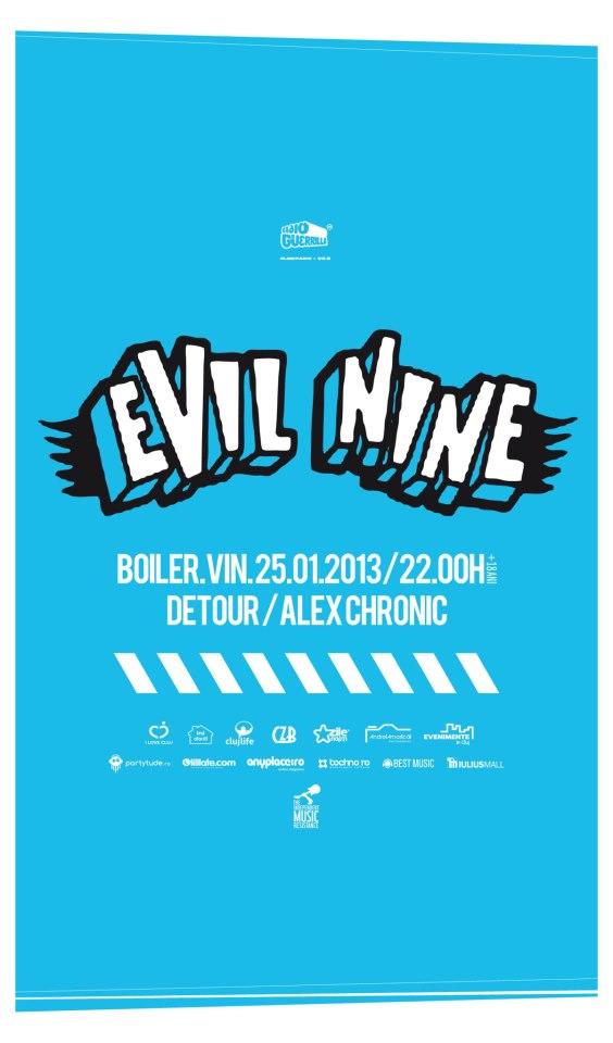 Evil Nine @ Boiler Club