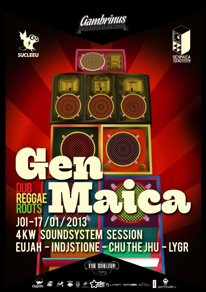 Genmaica Soundsystem @ Gambrinus Pub
