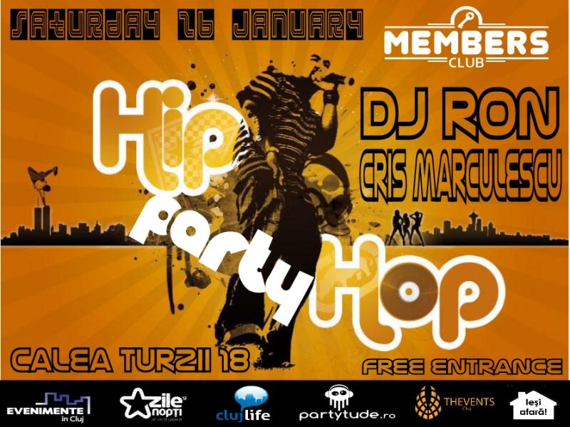 Hip Hop Party @ Members Club