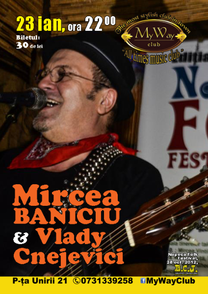 Mircea Baniciu & Vlady Cnejevici @ My Way