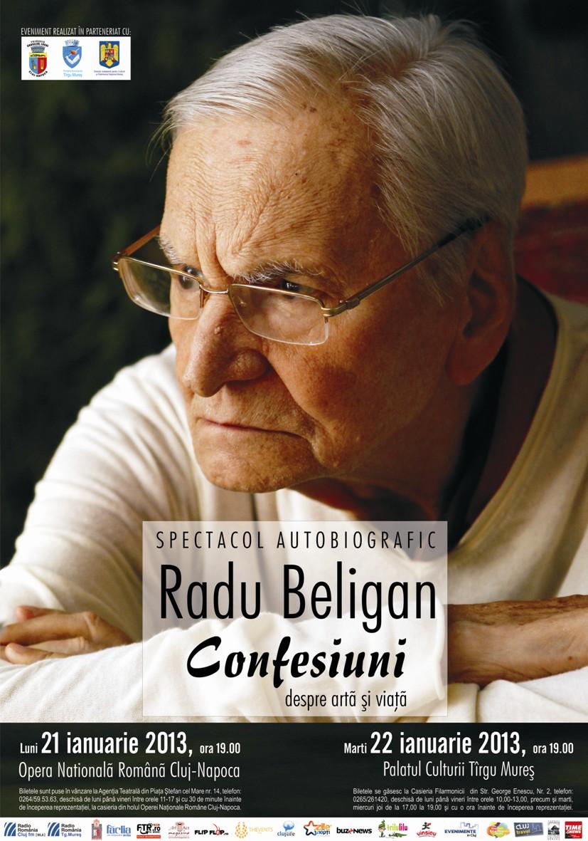 Radu Beligan – Confesiuni despre arta si viata