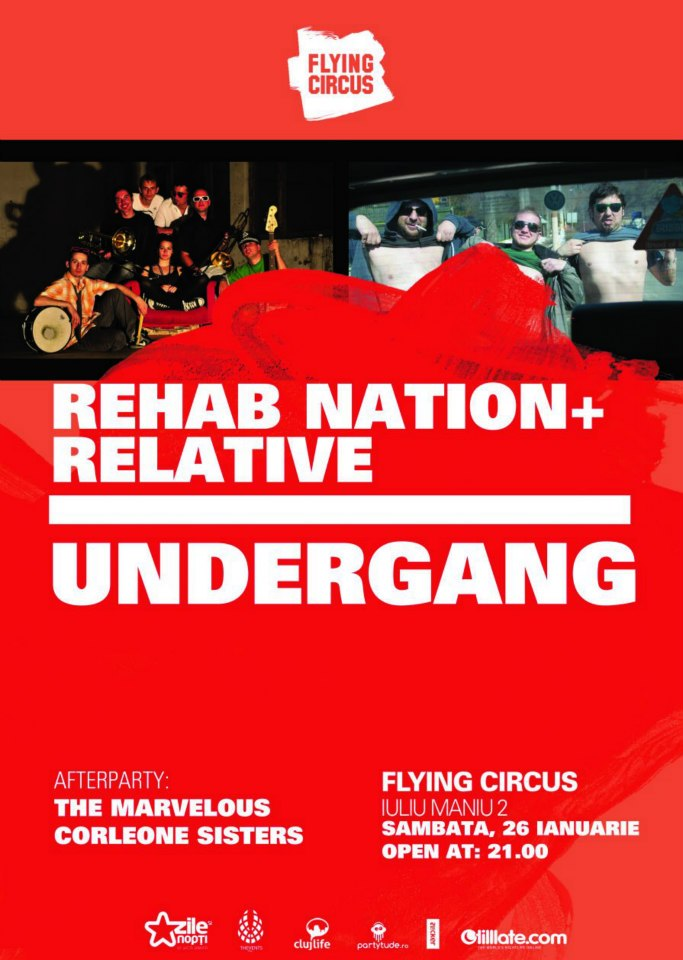 Rehab Nation & Relative @ Flying Circus Pub