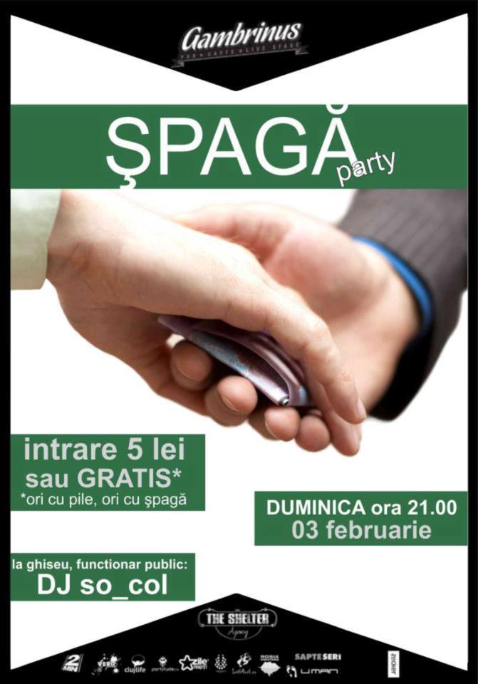 Spaga Party @ Gambrinus Pub