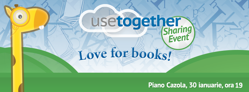 UseTogether: Love for Books @ Piano Cazola