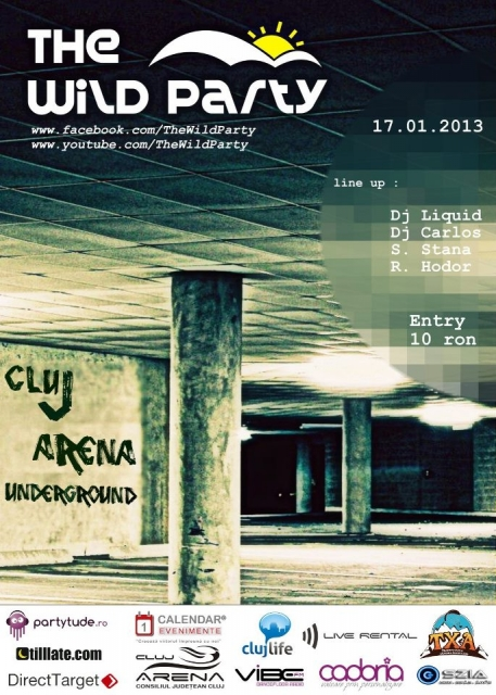 The Wild Party @ Cluj Arena