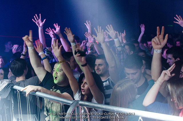 Poze: The Wild Party @ Cluj Arena