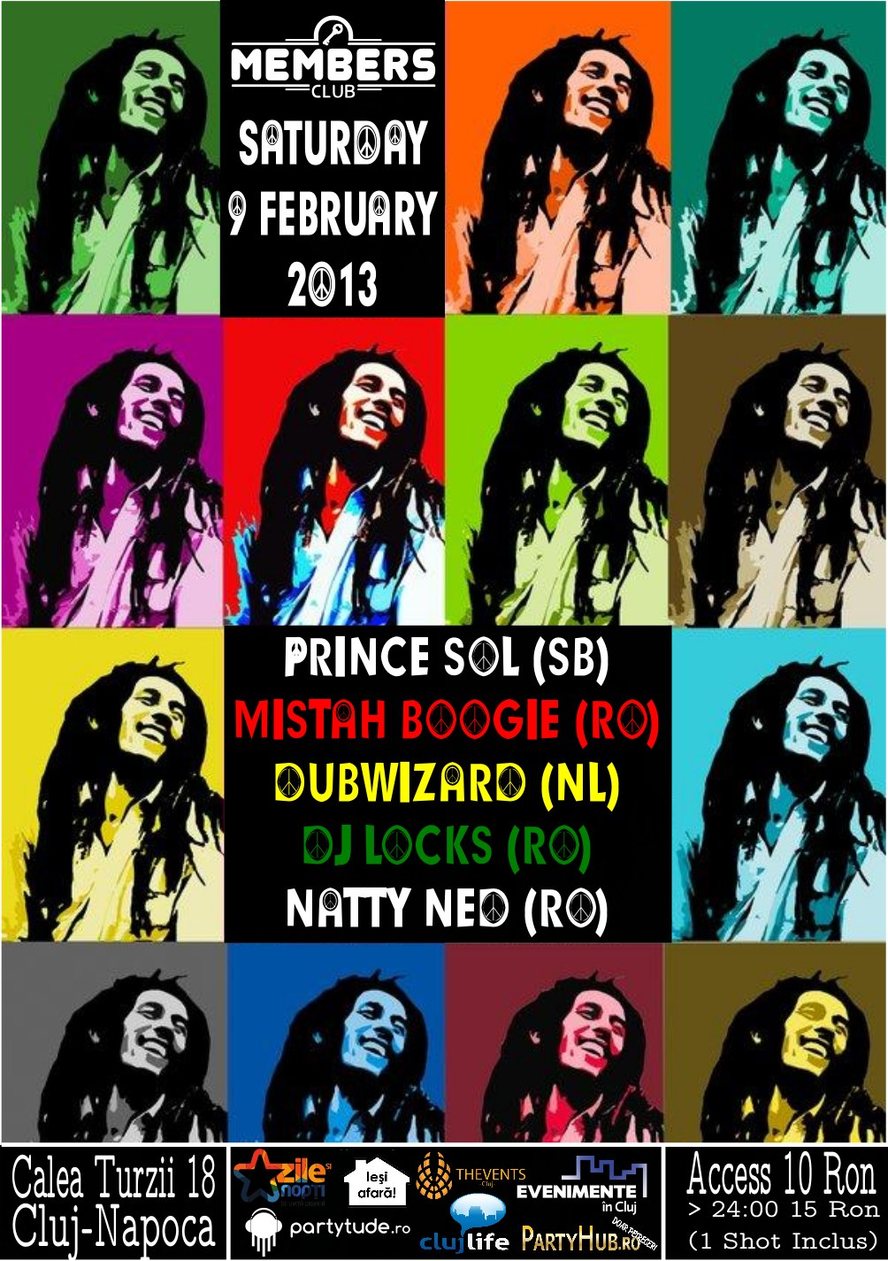 Bob Marley Tribute @ Members Club