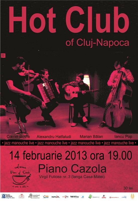 Hot Club of Cluj @ Piano Cazola