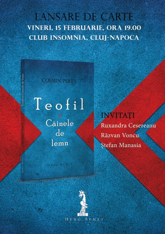 """Lansare """"Teofil şi Câinele de lemn"""" @ Insomni Cafe"""