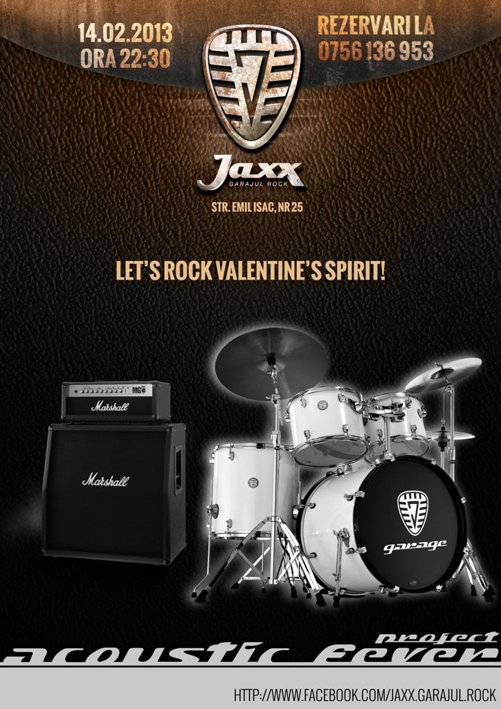 Let's Rock Valentine's Spirit @ JAXX