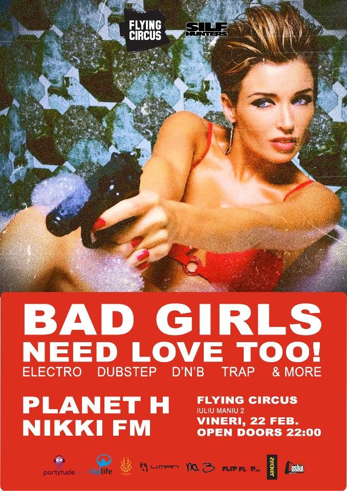 Bad Girls Need Love Too @ Flying Circus Pub