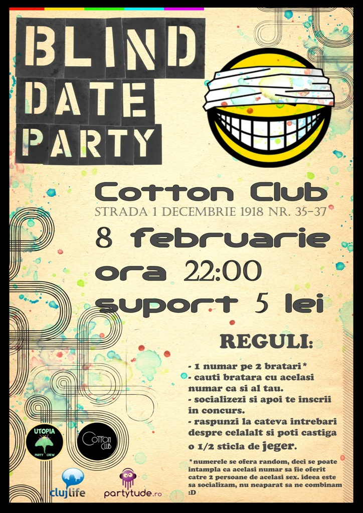 Blind Date Party @ Cotton Club