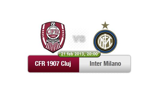 CFR Cluj – Inter Milano