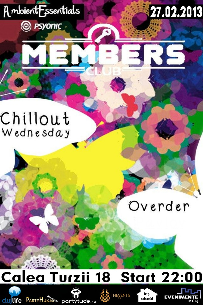 Chillout Wednesday @ Members Club