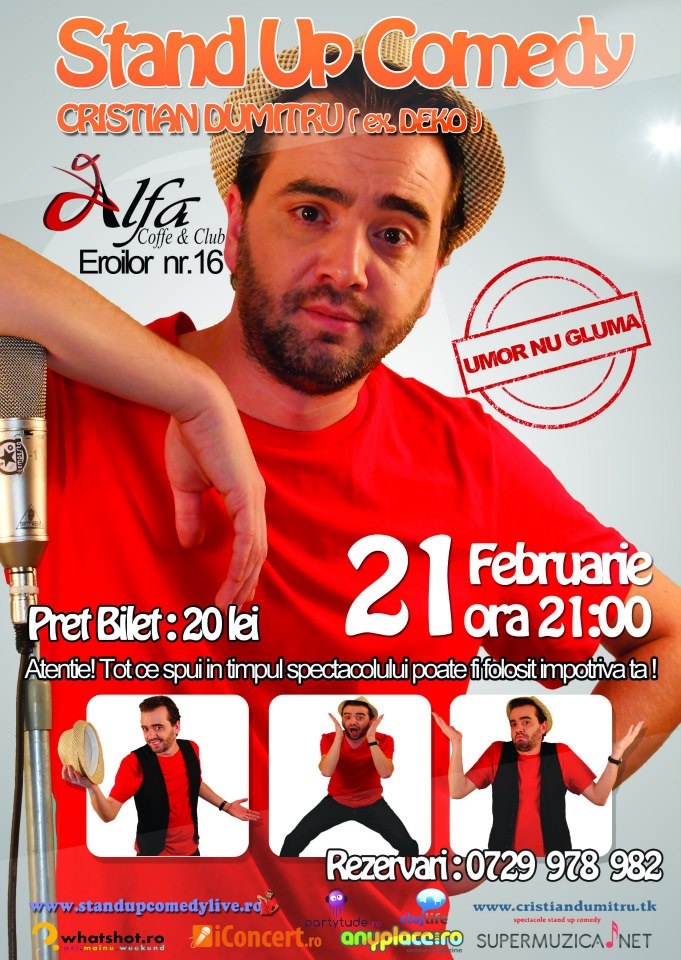 Stand Up Comedy @ Club Alfa