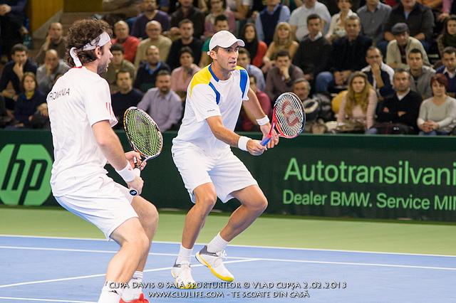 """Poze: Cupa Davis @ Sala Sporturilor """"Horia Demian"""""""