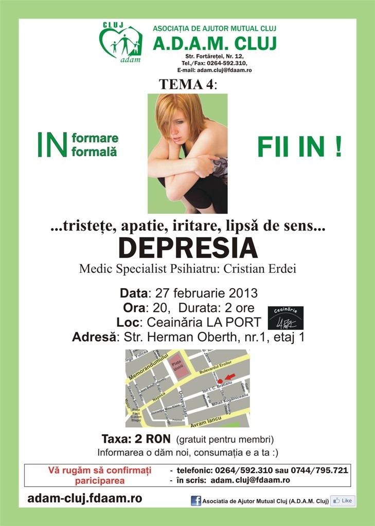 "Depresia @ Ceainaria ""La Port"""