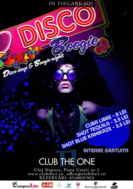 Disco Boogie @ Club The One