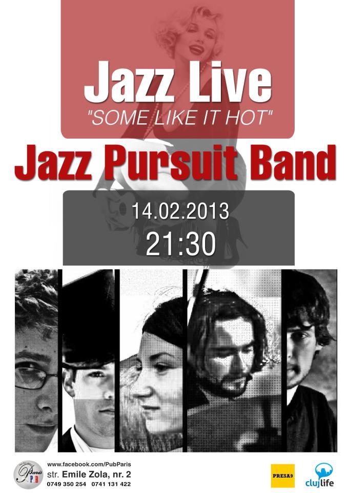 Jazz Pursuit Band @ Paris Pub