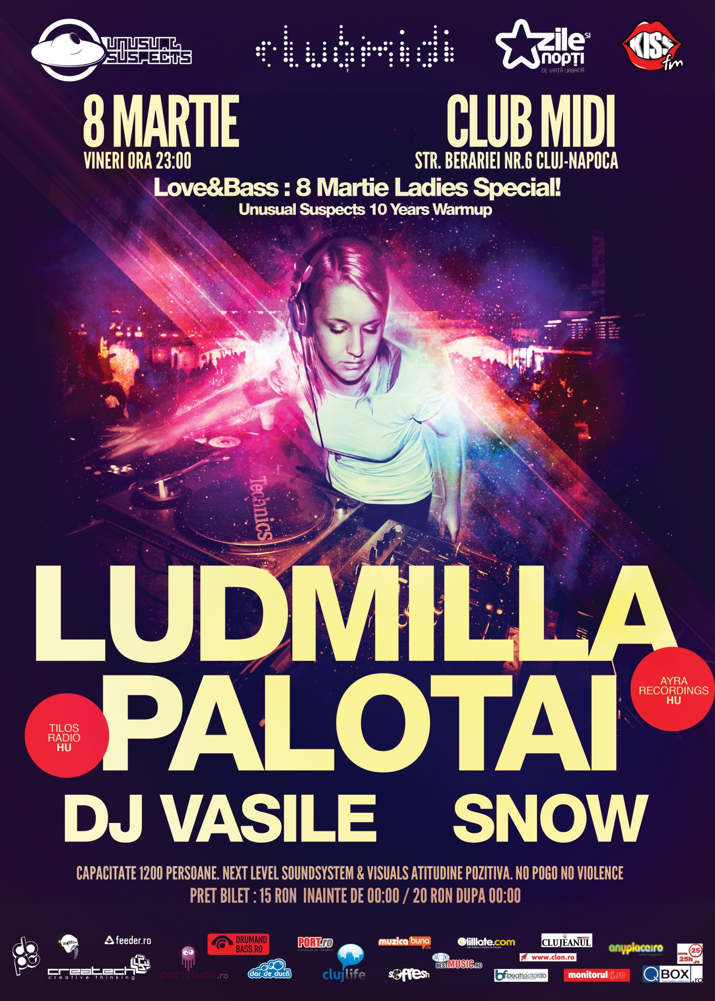 Ludmilla / Palotai @ Club Midi