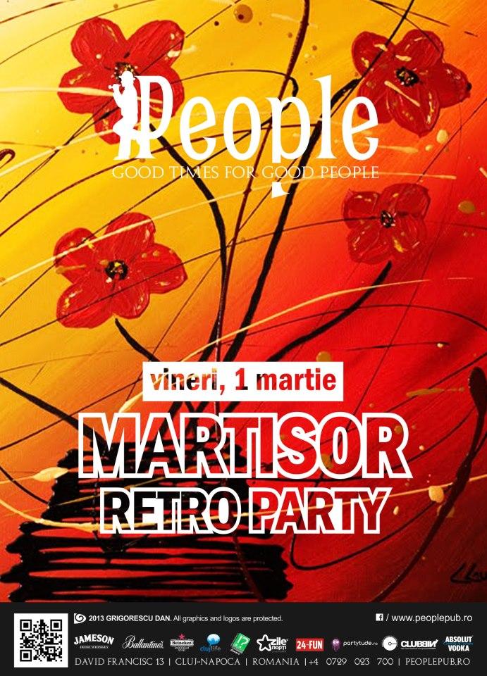 Martisor Retro Party @ People Pub