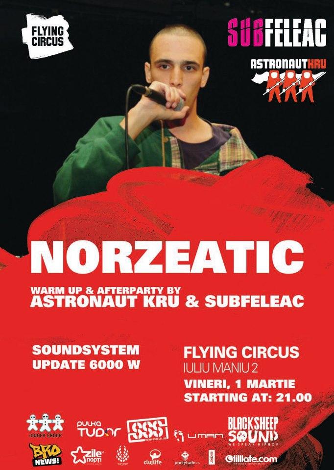 Norzeatic @ Flying Circus Pub