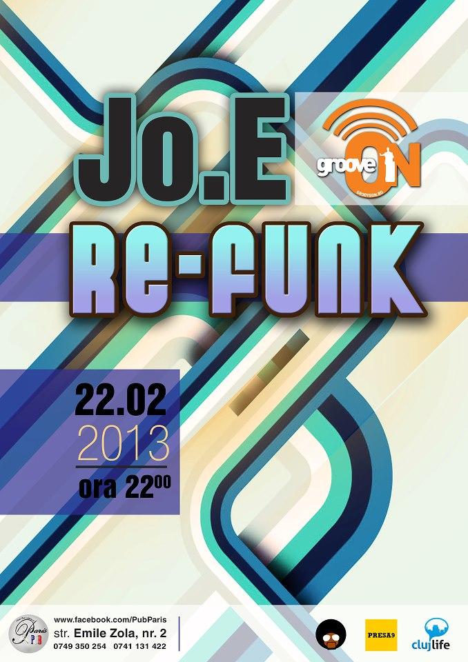 Jo.E Re-Funk @ Paris Pub