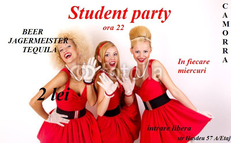 Student Party @ Camorra Bar