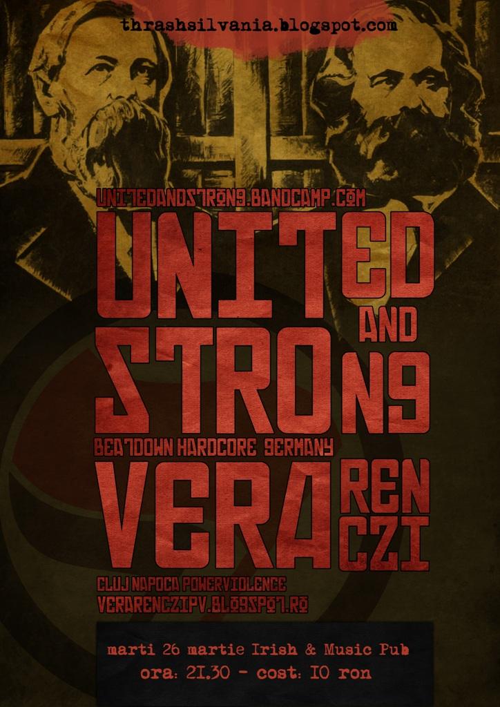 United and Strong @ Irish & Music Pub