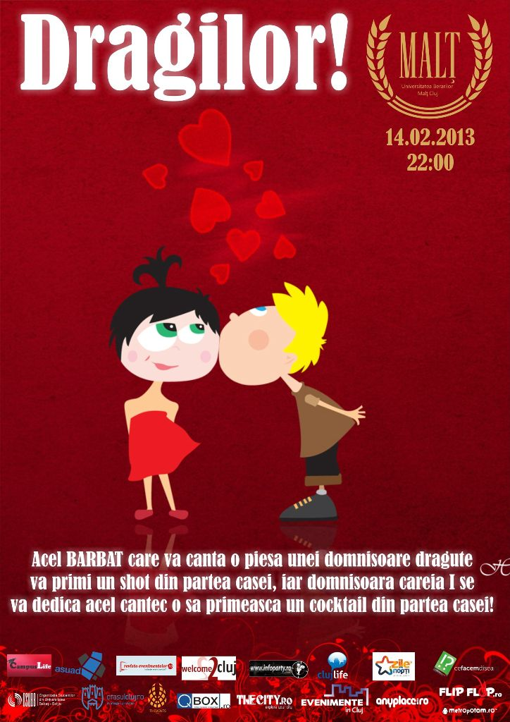 Karaoke de Sf. Valentin @ Malt