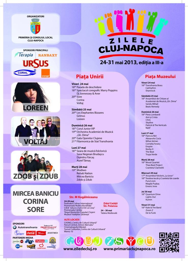 Zilele Clujului 2013