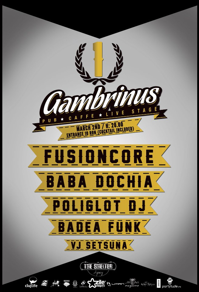 1 an de Gambrinus Pub