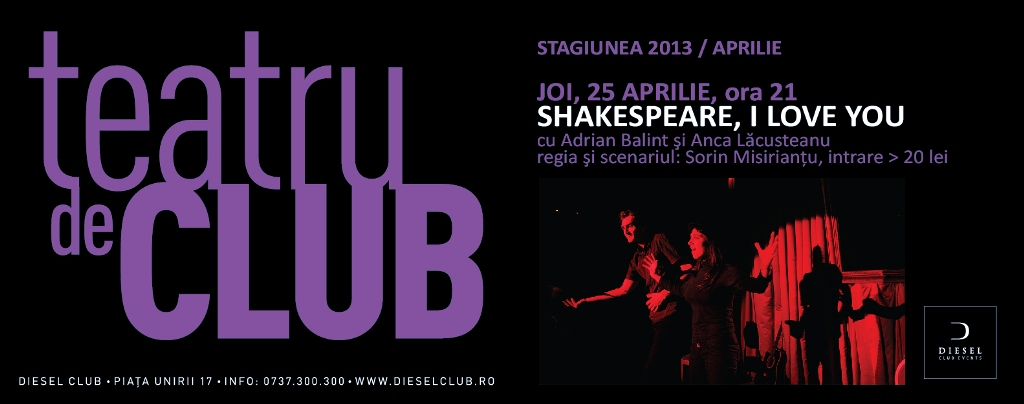 Shakespeare, i love you @ Club Diesel