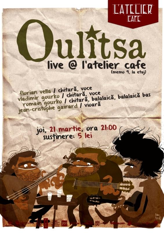 Oulitsa @ L'Atelier Cafe