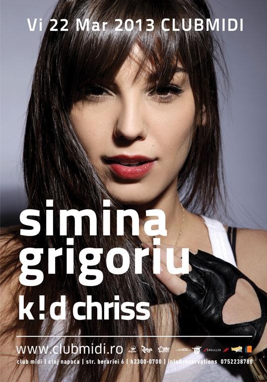 Simina Grigoriu @ Club Midi