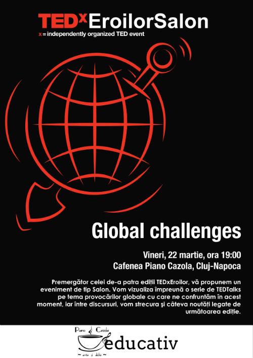 TEDxEroilorSalon @ Piano Cazola