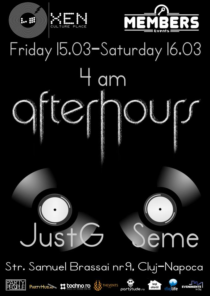 Afterhours party @ Club Xen